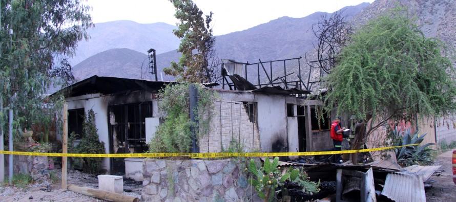 Gestionan ayuda social para familia afectada por incendio en Diaguitas