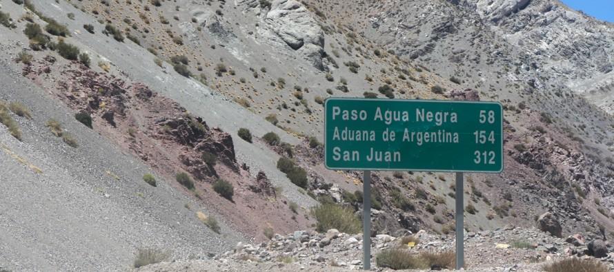 Desde este miércoles está disponible el paso hacia a Argentina a través de Agua Negra