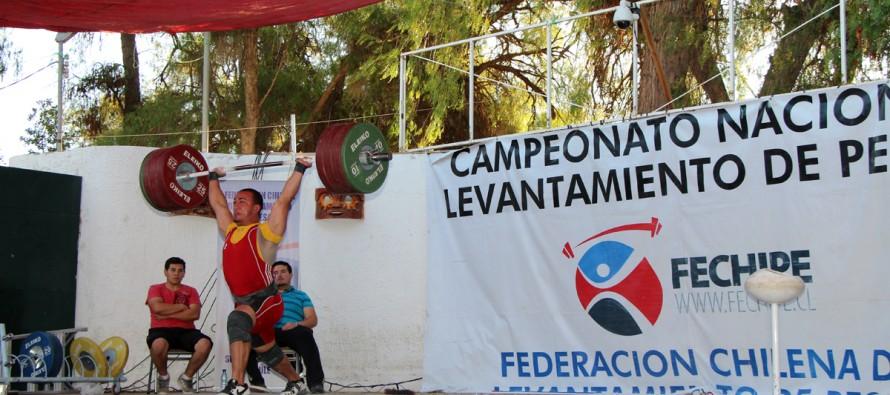 Los mejores de Chile compitieron en el Campeonato Nacional de Halterofilia de Vicuña