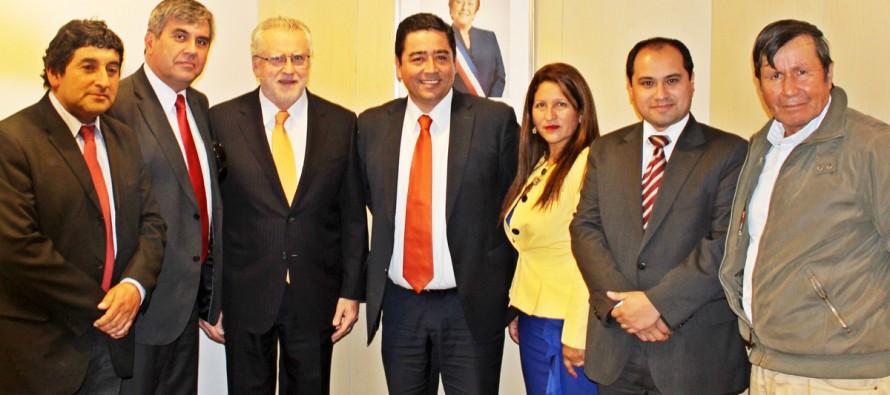 Ministro, alcaldes y concejales analizan temas energéticos relativos a la ruralidad de la zona