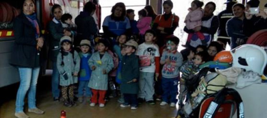 Niños y niñas de Paihuano celebran semana del párvulo con diversas actividades
