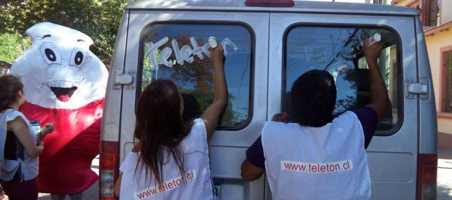 Paihuano se une a cruzada solidaria Teletón 2014 y busca superar su meta de 10 millones de pesos