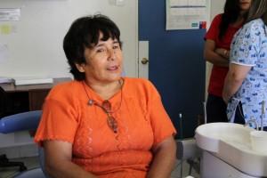 Teresa Galleguilos quiere volver a sonreir
