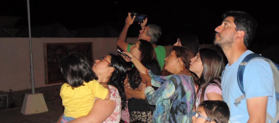 """Proyecto astronómico con charlas """"in sitú"""" se ejecuta en Pisco Elqui"""