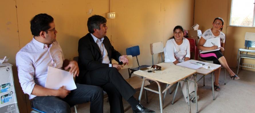 Analizan los ámbitos de desarrollo para la comunidad de Villa La Paz en Rivadavia
