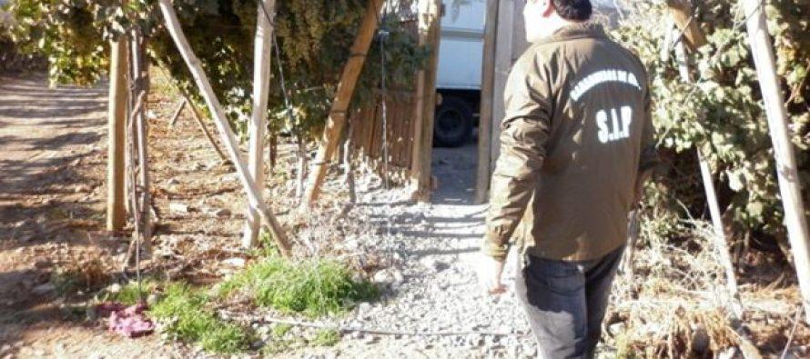 Hombre fue detenido en un sitio eriazo por robo con violencia y porte de arma blanca