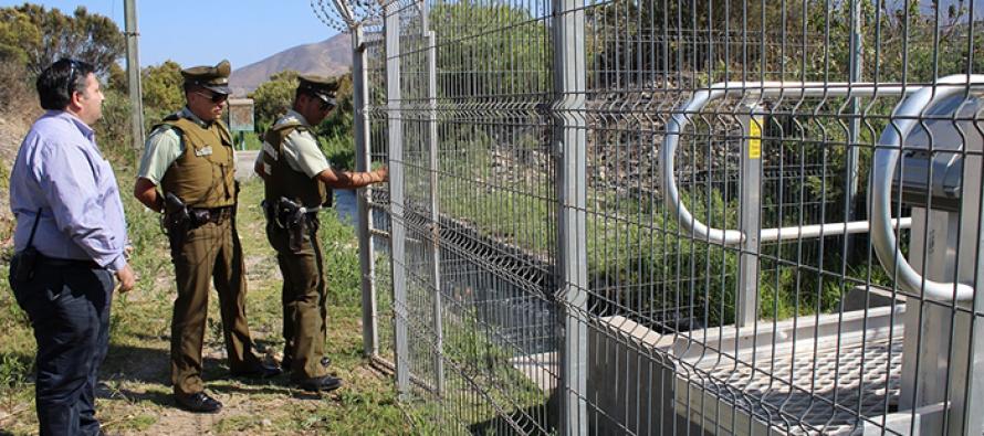 Roban piezas de compuerta telemétrica de Aguas del Valle en el Elqui