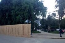 Se inician los trabajos de remodelación de la plaza de armas de Vicuña