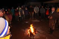 Dique en Río Turbio de Huanta genera evacuación preventiva de Chapilca y Varillar