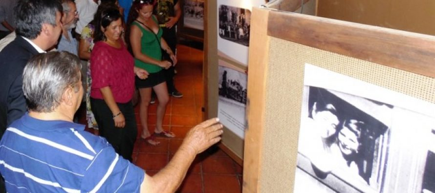 "En Capel se expone ""Tren Elquino: Imágenes de la Nostalgia"" del fotógrafo Juan Carlos Madariaga"