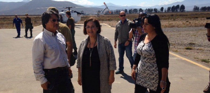 Senadora Muñoz: «Estamos muy preocupados por 17 personas aisladas del sector de La Viñita»