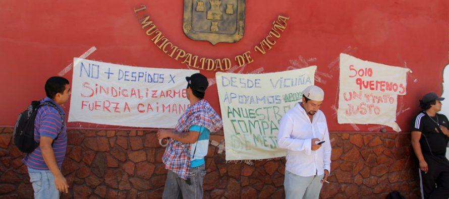 Trabajadores de empresa que pavimenta camino a Agua Negra denuncian despidos arbitrarios