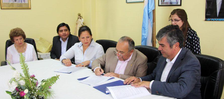 Vicuña estrecha lazos con Chimbas para generar intercambio educacional, cultural y deportivo