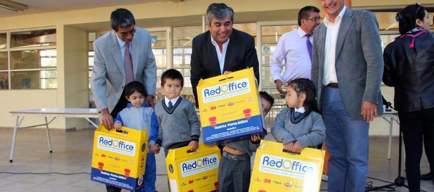 Estudiantes de escuelas municipalizadas de Vicuña contarán con útiles escolares y mochilas