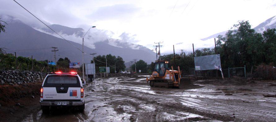 Autoridades llaman a la tranquilidad de la comunidad frente a situación vivida con las lluvias