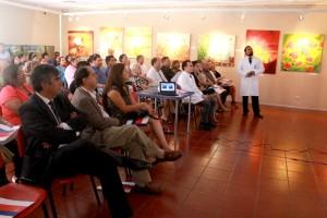 Jorge Espinoza expone su ultima cuenta Publica al mando del hospital de Vicuna