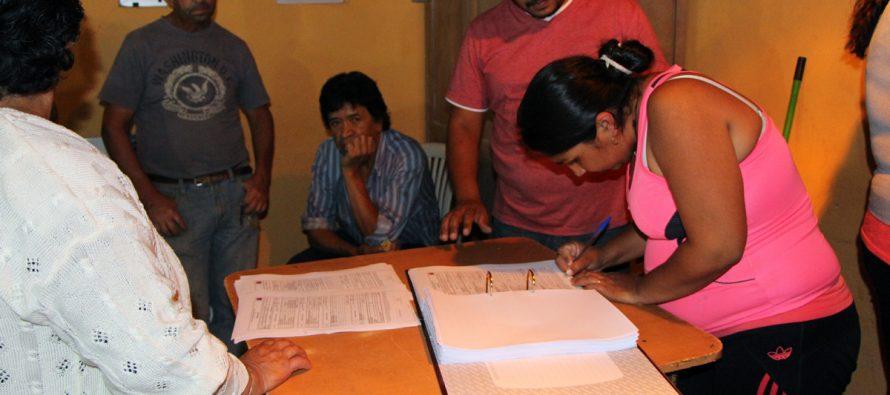 Calingasta celebra adquisición de mobiliario para la sede de la junta de vecinos
