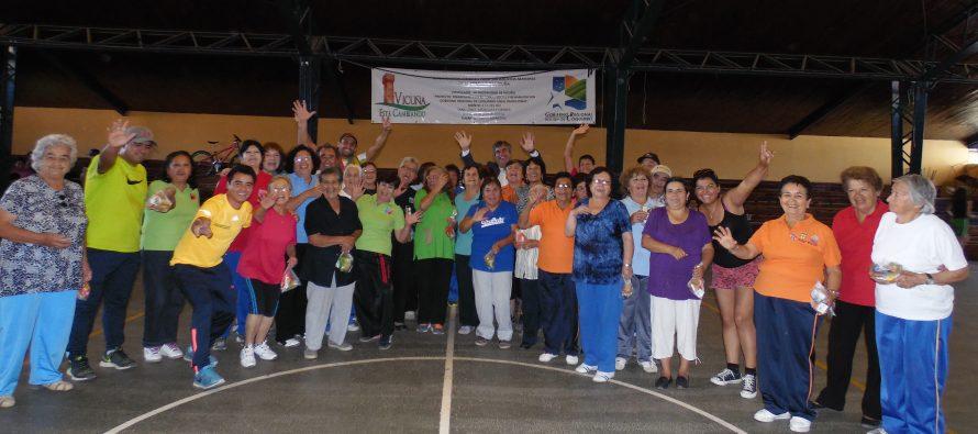 Adultos mayores acceden a actividad física y atención kinesiológica en Vicuña