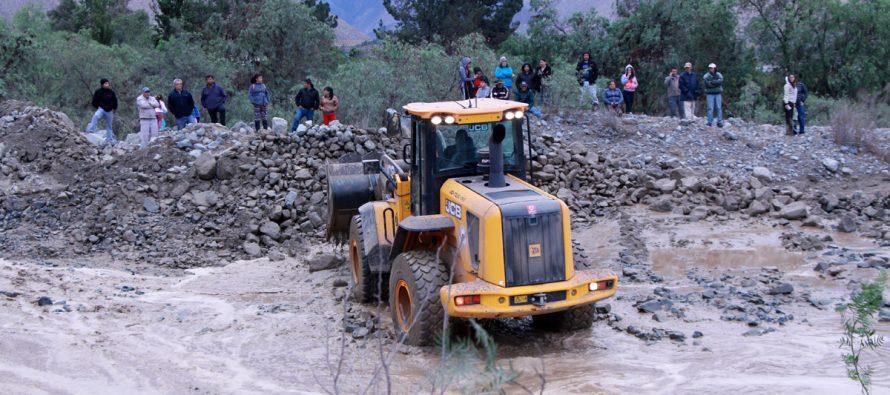 Lluvias en Vicuña dejan 120 damnificados y más de 80 casas afectadas