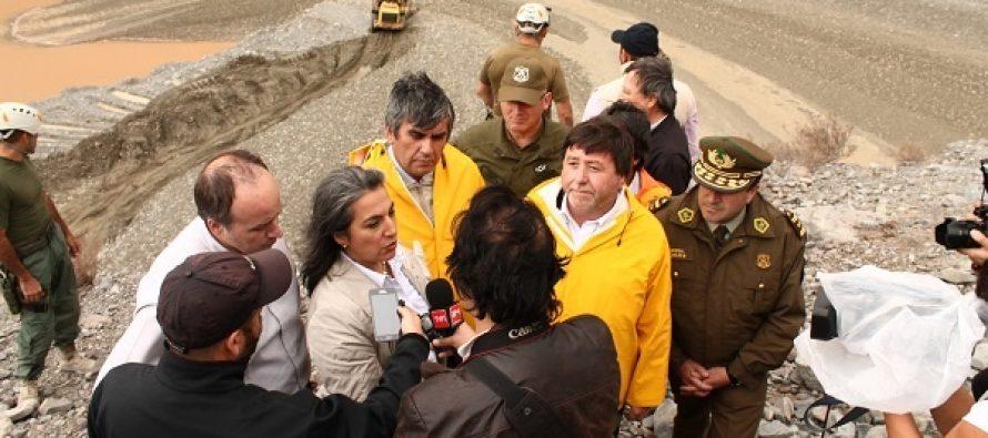 Comienzan trabajos de habilitación de calles, carretera y espacios públicos en Vicuña
