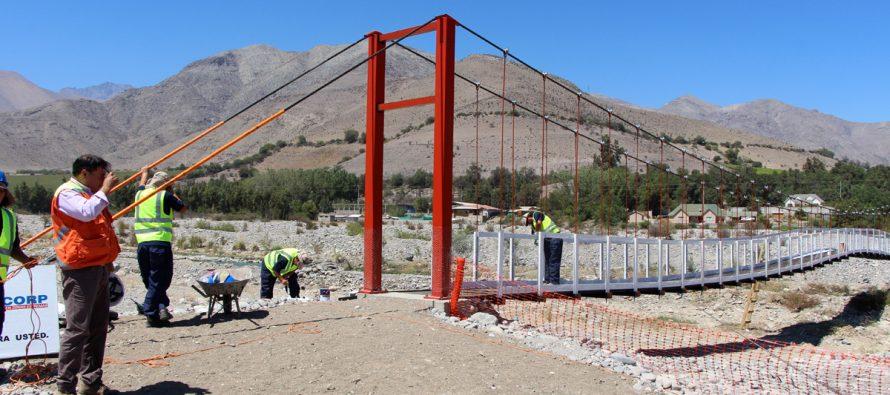 Analizan proyectos en ejecución construidos con recursos SUBDERE en Vicuña