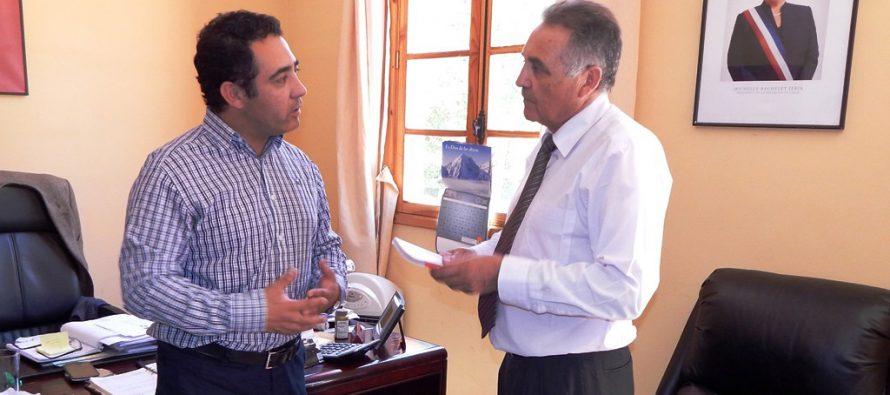 Inician estudio de eficiencia energética en alumbrado público de Paihuano