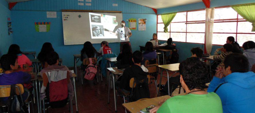 Alumnos de Paihuano participaron en charla entregada por científicos extranjeros