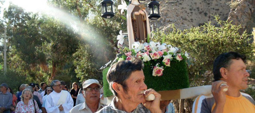 Cochiguaz celebró a su santa patrona Teresa de Los Andes