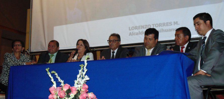Destacan proyectos emblemáticos de Paihuano  en cuenta pública de gestión 2014