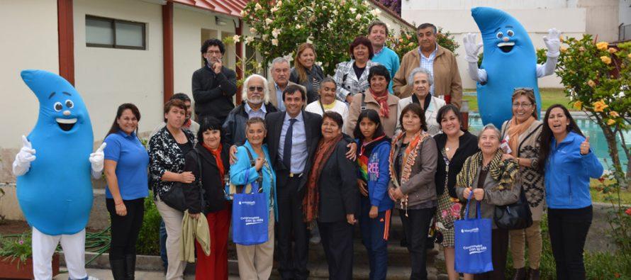 Aguas del Valle informa a dirigentes vecinales de Elqui por escenario de escasez hídrica
