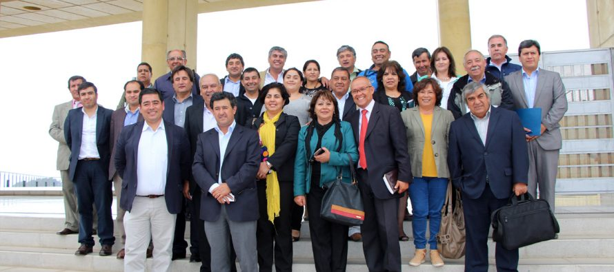 Junto con reafirmar la directiva los municipios rurales cuentan con nuevos miembros