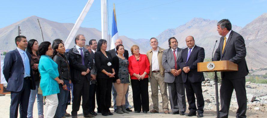 Presidenta Bachelet visita Vicuña y realiza importantes anuncios para las comunas elquinas