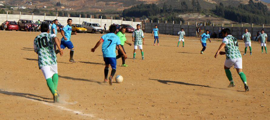 CD El Romero y Juventud Unida de Islón revivieron un nuevo clásico en el futbol rural de La Serena