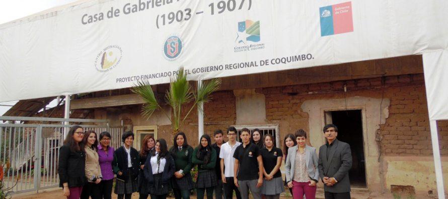 Gobierno Regional y ULS incentivan a alumnos a conocer vida y obra de Gabriela Mistral
