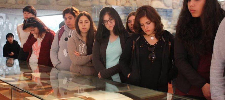 Museo Gabriela Mistral celebró el Día Internacional del Libro y la Lectura