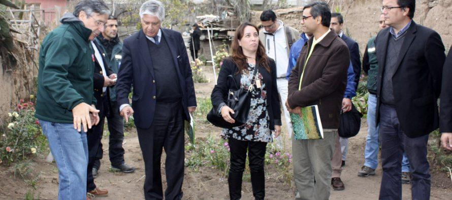 Subsecretario de Agricultura supervisa labores de control de mosca de la fruta en La Serena