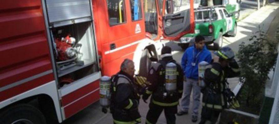 Carabineros de Pisco Elqui se preparan frente a un siniestro con simulacro de incendio