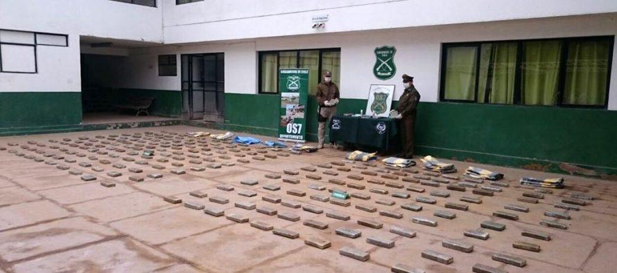 Detienen a vicuñense en operativo antidrogas en Chañaral