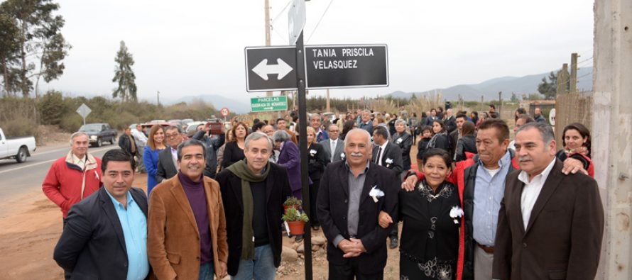 Camino que une Quebrada de Monárdez ya tiene nombre