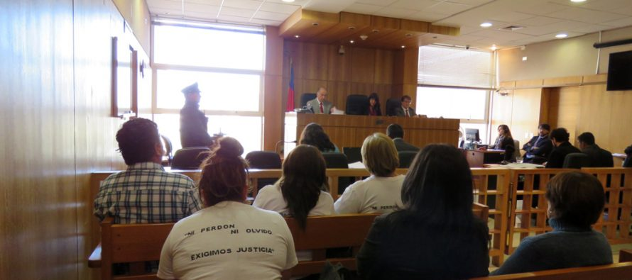 Tribunal Oral en lo Penal declara culpable a acusado de homicidio con violación de Vicuña