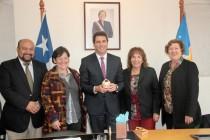 Vicegobernador de San Juan sostiene encuentro con el CORE durante su última sesión