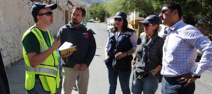 Comienza estudio del alumbrado público en la comuna de Paihuano