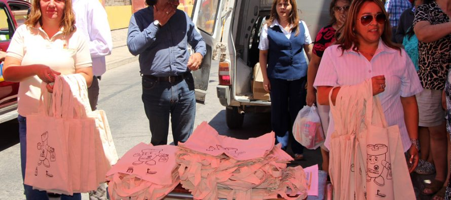 Cámara de Comercio de Vicuña se une a campaña de eliminación de bolsas plásticas