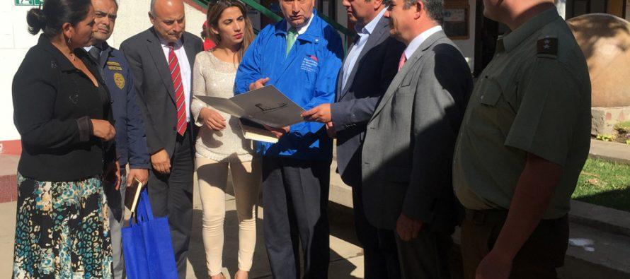 Establecen medidas para enfrentar el delito en Vicuña a través de Consejo de Seguridad