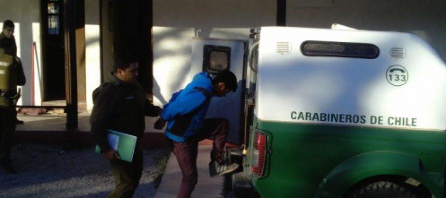 Detienen a joven que intentó herir a Carabinero en población del sector poniente de Vicuña