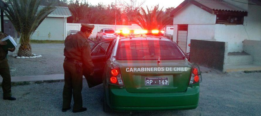 En Vicuña se encontraba adolescente de Iquique con encargo por presunta desgracia