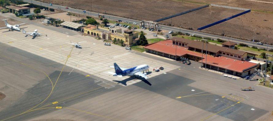 Aumentarán en un 30% los vuelos hacia aeropuerto de  La Serena durante Copa América