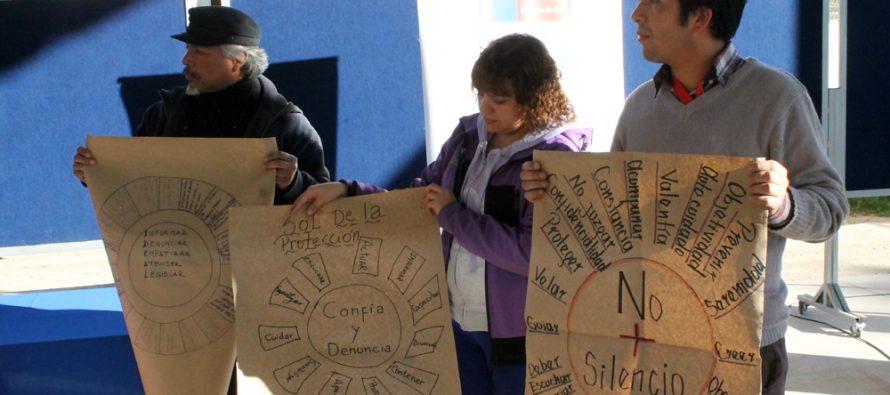 Sensibilizan a equipos educacionales de Vicuña con respecto al abuso sexual infantil