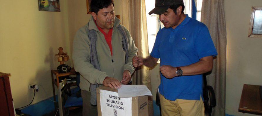 Unen  fuerzas para ayudar a financiar sistema de televisión de Pisco Elqui