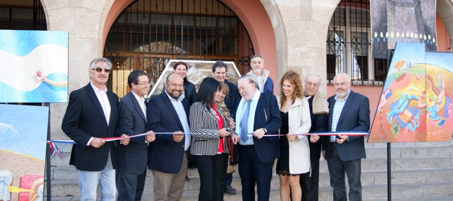 Intendenta y Embajador de Argentina inauguran muestra de arte de San Juan